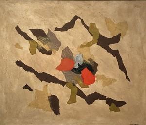 Giulio TURCATO - Pintura - Collage, primi anni '70