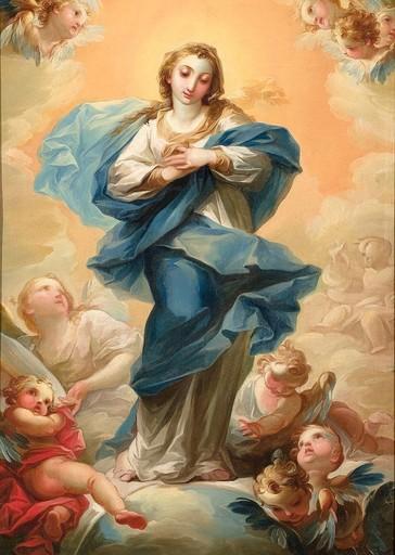Vicente LÓPEZ PORTAÑA - Painting - Inmaculada Concepción