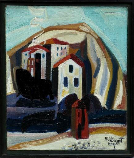 Marcel POUGET - Gemälde - LE PORT1950