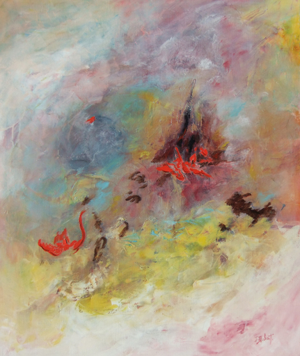 Josette DUBOST - Pittura - Immensite