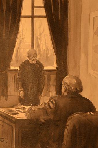 Anatoliy Dmitrievich BASILEVICH - Drawing-Watercolor