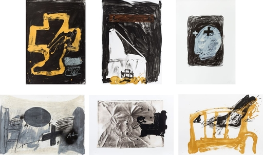Antoni TAPIES - Radierung Multiple - from 'Variations'