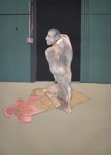 Francis BACON - Estampe-Multiple - Study for a Portrait of John Edwards | Étude pour un portrai