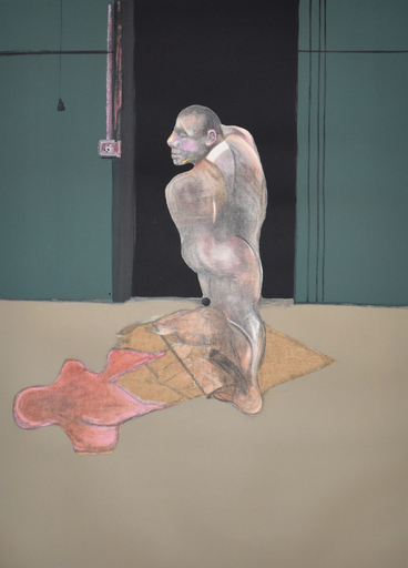 Francis BACON - Grabado - Study for a Portrait of John Edwards | Étude pour un portrai