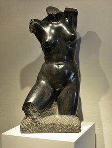 Virgilio AUDAGNA - Skulptur Volumen - Nudo femminile