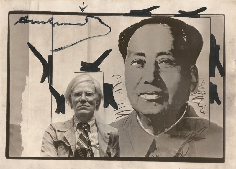 Andy WARHOL - Fotografia - Mao et Warhol
