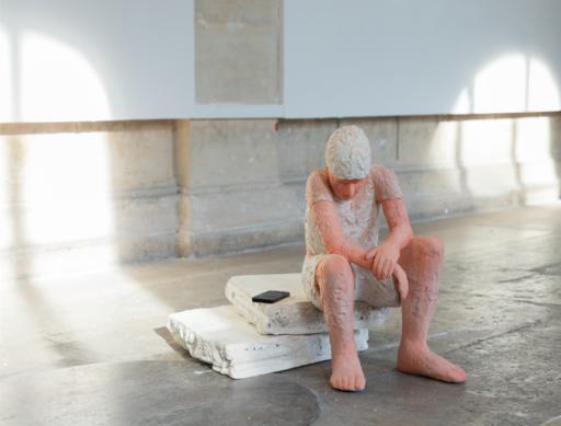 Madeleine CALAFELL - Céramique - « Pink boy »