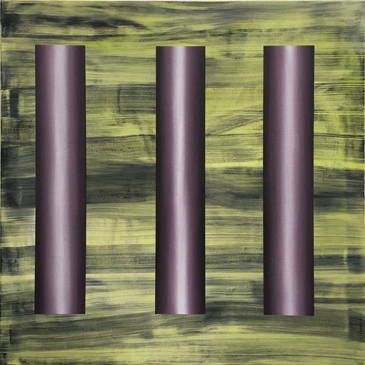 Diego MOVILLA - Peinture - Trois figures