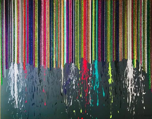 Alexandra BERNARDINI - Painting - Celebration of  Life 150x190 No.8