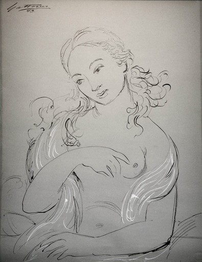Antonio GATTORNO - Pintura - Desnudo