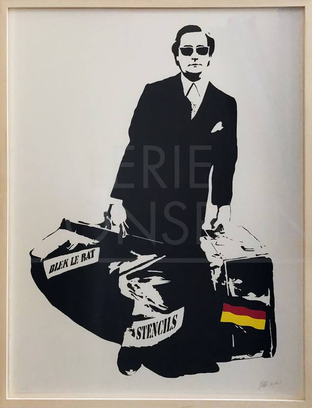 BLEK LE RAT - Print-Multiple - The Man Who Walks Through The Walls