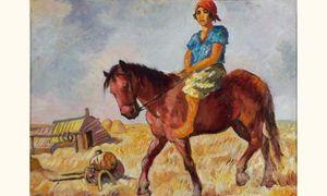 Issachar Ber RYBACK - Pittura - Cavalier