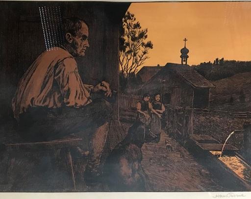 Hans THOMA - Print-Multiple - Feierabend