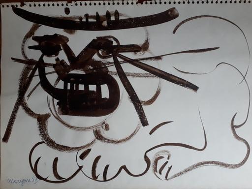 MARYAN - Drawing-Watercolor - Le roi Lion