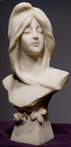 Dante ZOI - Skulptur Volumen - Art Nouveau Maiden