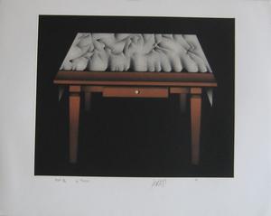 Mario AVATI - Druckgrafik-Multiple - GRAVURE 1977 SIGNÉE AU CRAYON NUM/11 HANDSIGNED NUMB ETCHING