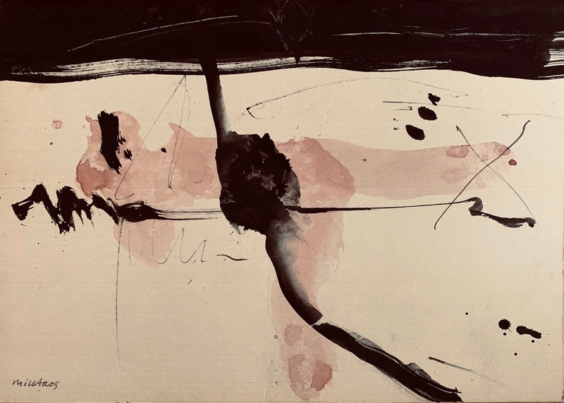 Manolo MILLARES - Painting - untitled