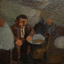 Edmond Amédée HEUZÉ - Peinture - Au café