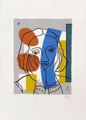 Fernand LÉGER - Print-Multiple - Sans titre