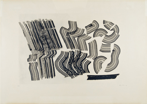 Hans HARTUNG - Stampa-Multiplo - G1970-2