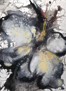 Baruj SALINAS - Dibujo Acuarela - Cloud Flower