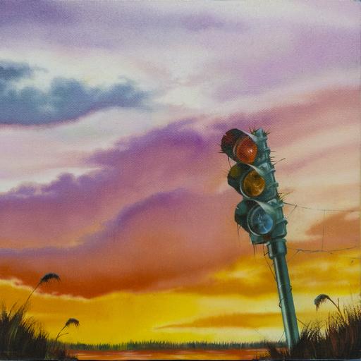 Carlo Alberto RASTELLI - Painting - L'amore ai tempi di Ground Zero #4