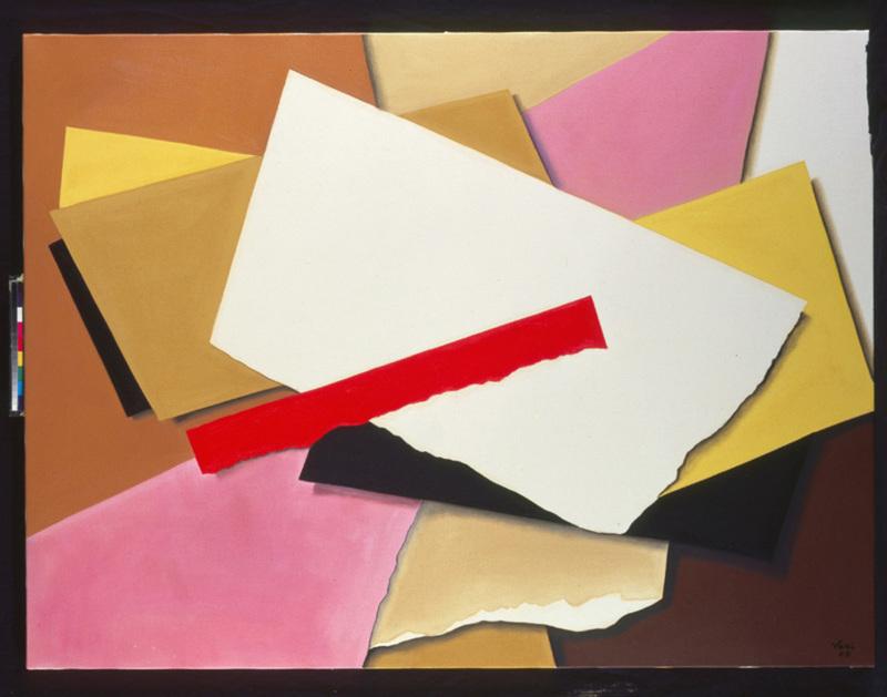 Sophia VARI - Painting - Carte Blanche