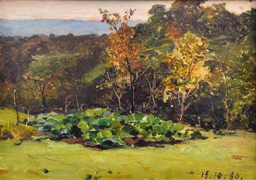 Lorenzo DELLEANI - Painting - Paesaggio