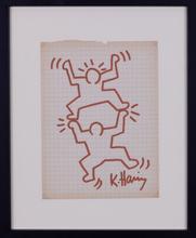 Keith HARING - Disegno Acquarello - SANS