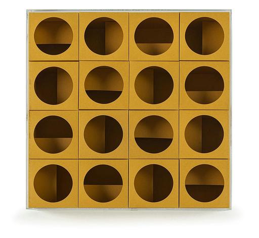 Paolo SCHEGGI - Skulptur Volumen - Inter-ena-cubo