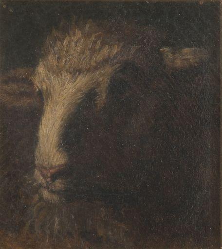 Filippo PALIZZI - Painting - Capretta