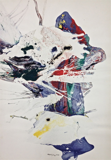 August PUIG - Painting - Untitled 1960