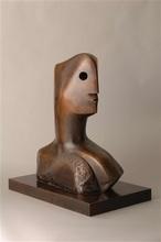 亨利•摩尔 - 雕塑 - Head - Sold