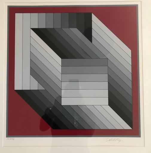 Victor VASARELY - Stampa Multiplo - Composition