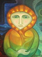Joan BROTAT VILANOVA - Peinture - Mujer