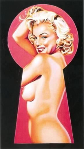 Mel RAMOS - Druckgrafik-Multiple - Peek-a-boo Marilyn 1