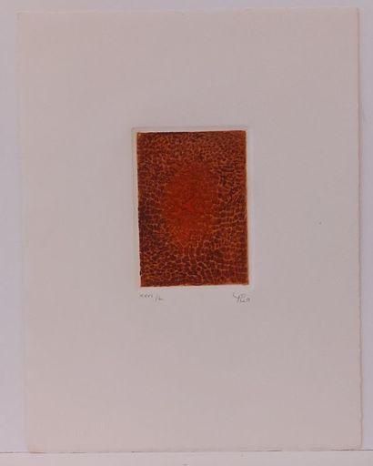 Arthur Luiz PIZA - 版画 - Terre brûlée