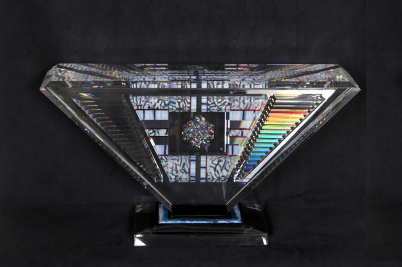 Jon KUHN - Skulptur Volumen - Island Jewel