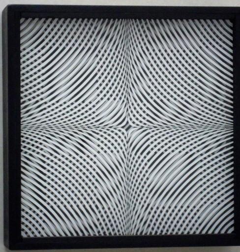 Ennio CHIGGIO - Skulptur Volumen - interferenza lineare 9.8