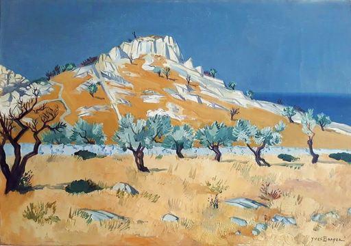 Yves BRAYER - Painting - Sicile