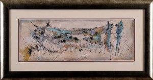 Rajmund ZIEMSKI - Zeichnung Aquarell - Landscape