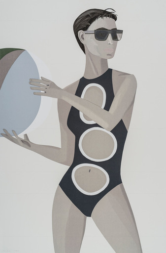 Alex KATZ - Print-Multiple - Chance 1 (Anne)