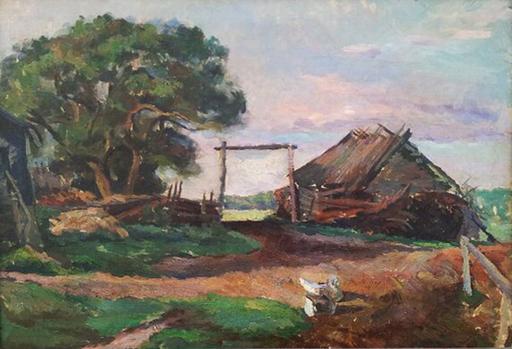 Alexander Alexandrov OSMERKIN - Pintura - Morning