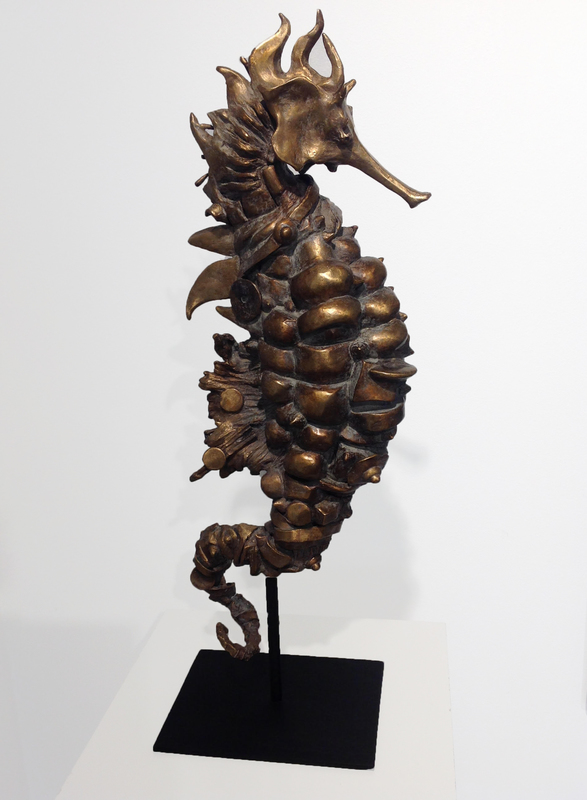 CHESADE - Sculpture-Volume - Hippocampe stellaire