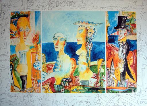 John BELLANY - Print-Multiple - Odyssey: Elegy for Alexander Kasser