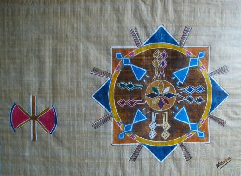 ATCHAMA - Painting - la roue de l'équilibre