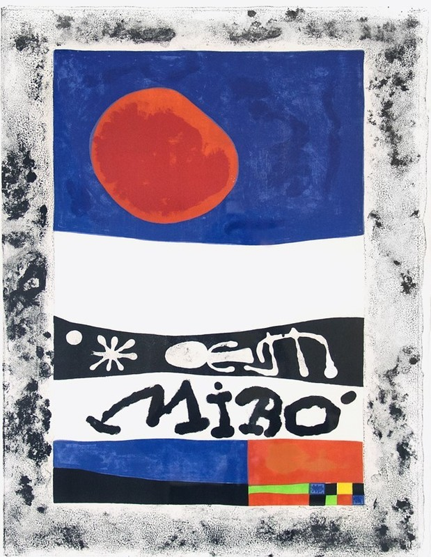 Joan MIRO - Print-Multiple - L'Exposition d'oeuvres recentes