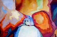 Claude THIEL DE NEUVILLE - Peinture - Passion isotherms n°23
