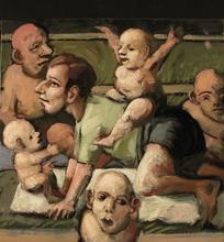 Jörg HERMLE - Pintura - Le père dévoué