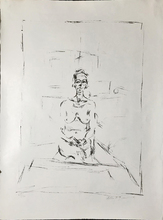 Alberto GIACOMETTI - Print-Multiple - Nu assis